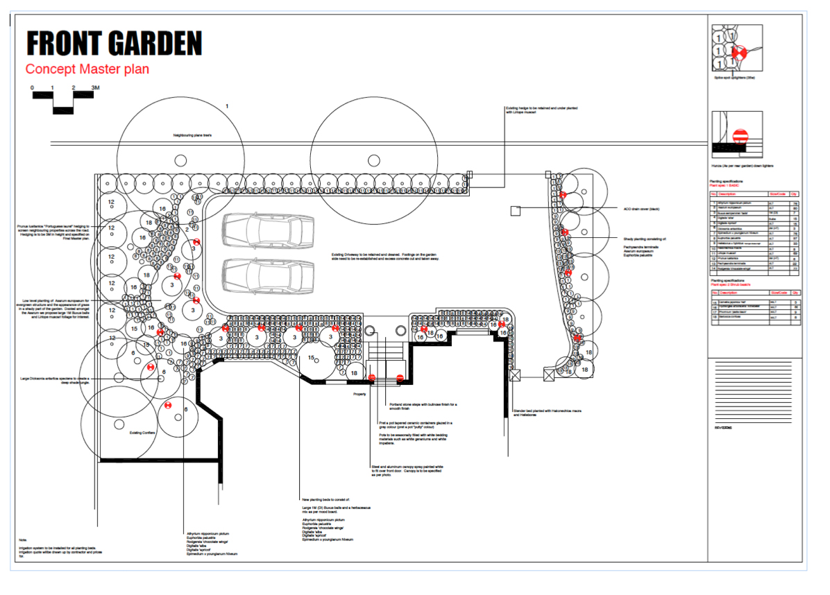 Diversity gardens cad design services and advice for Garden maintenance plan